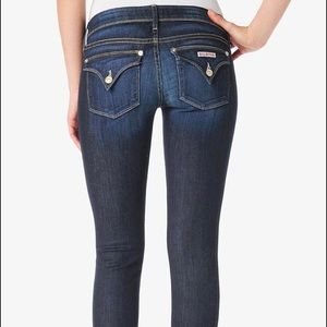 """Hudson """"Ginny"""" Crop Jeans With Cuff, 29"""